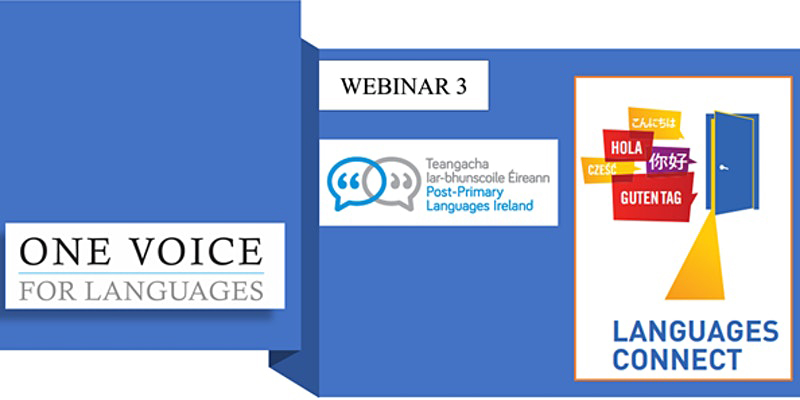 Languages Connect Webinar image