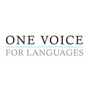 One Voice for Languages logo